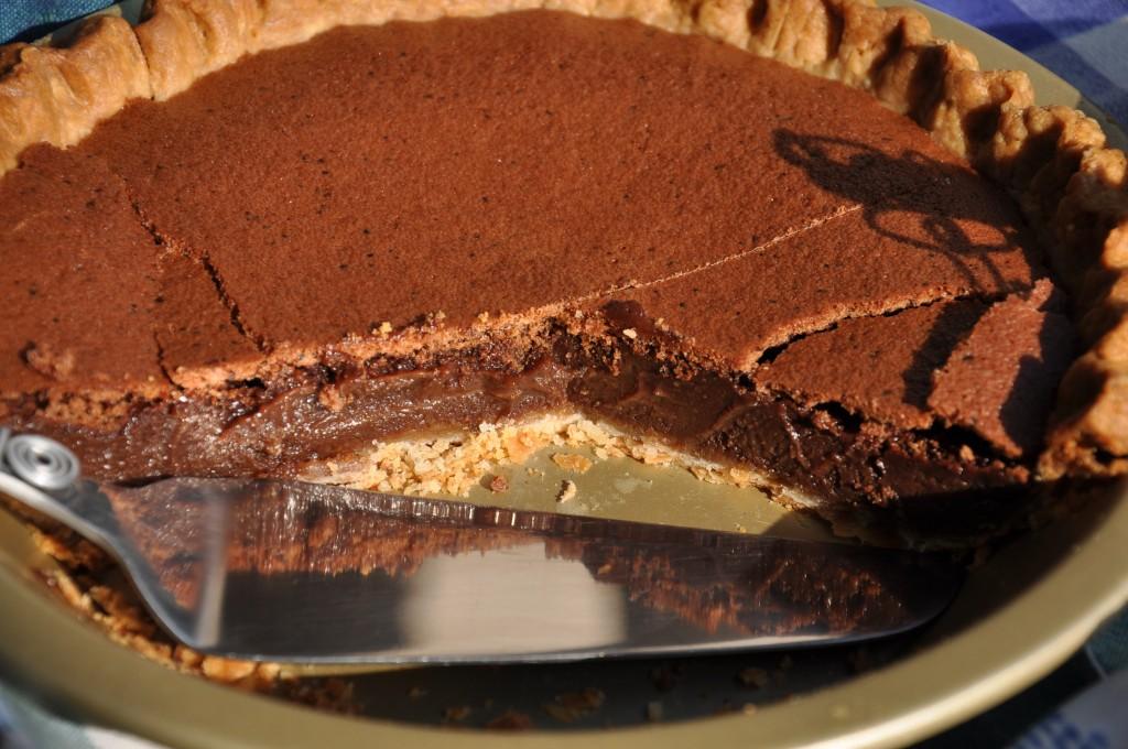 Chocolate Espresso Chess Pie from Ken Haedrich, Dean of ThePieAcademy ...