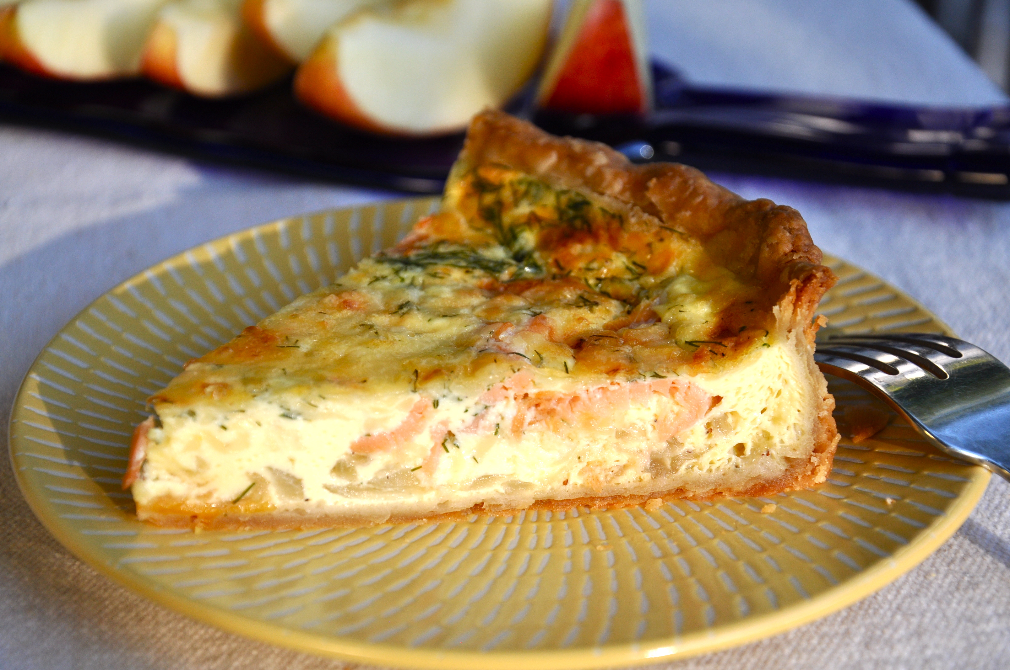 Savory Smoked Salmon Dill And Gouda Pie From Ken Haedrich Dean