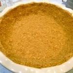Peanut Graham Cracker Crumb Crust