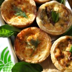 Mini Quiche for New Year's Day Brunch