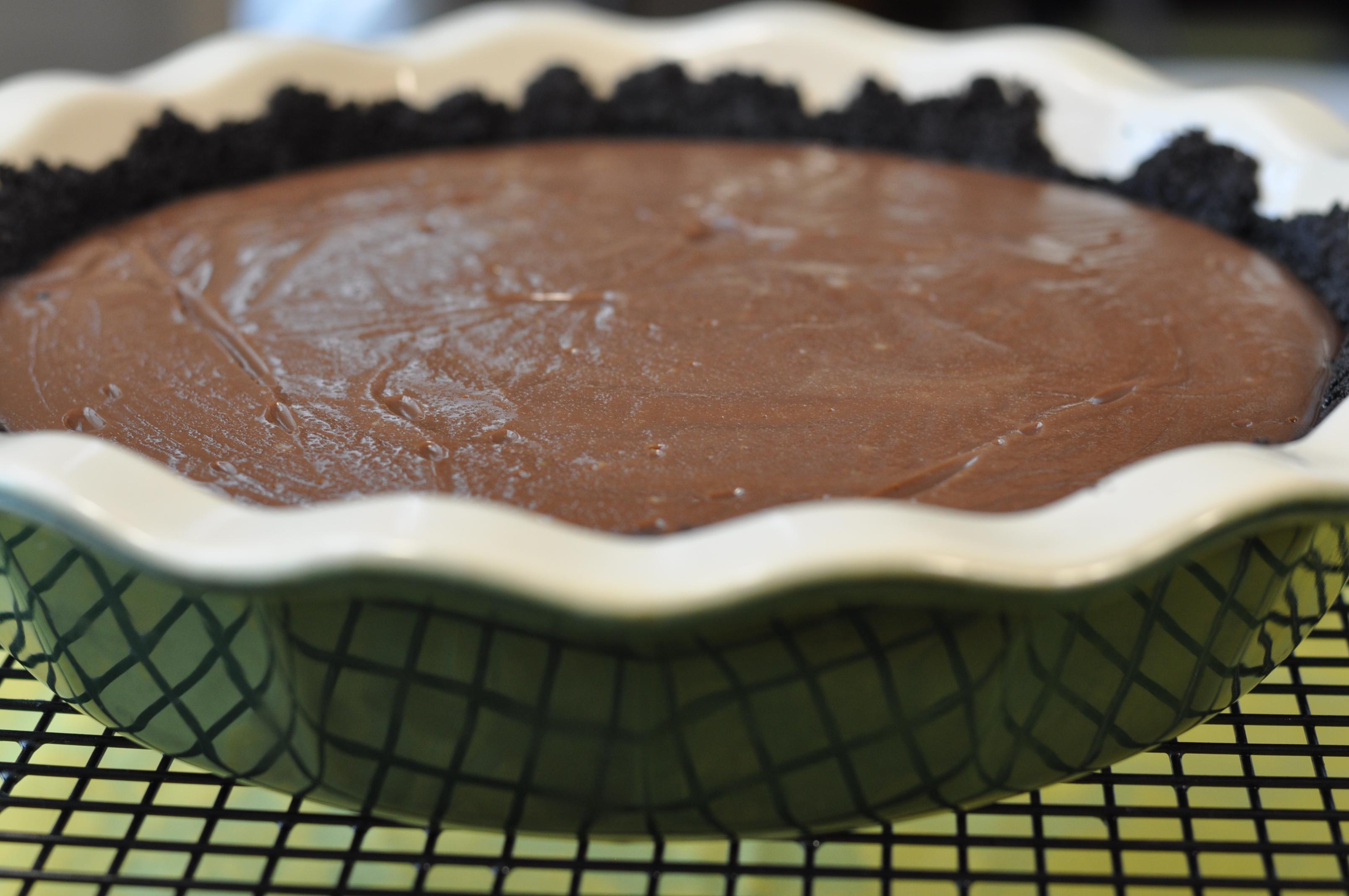 Chocolate Cream Pie with Oreo Crumb Crust from Ken Haedrich, Dean ...