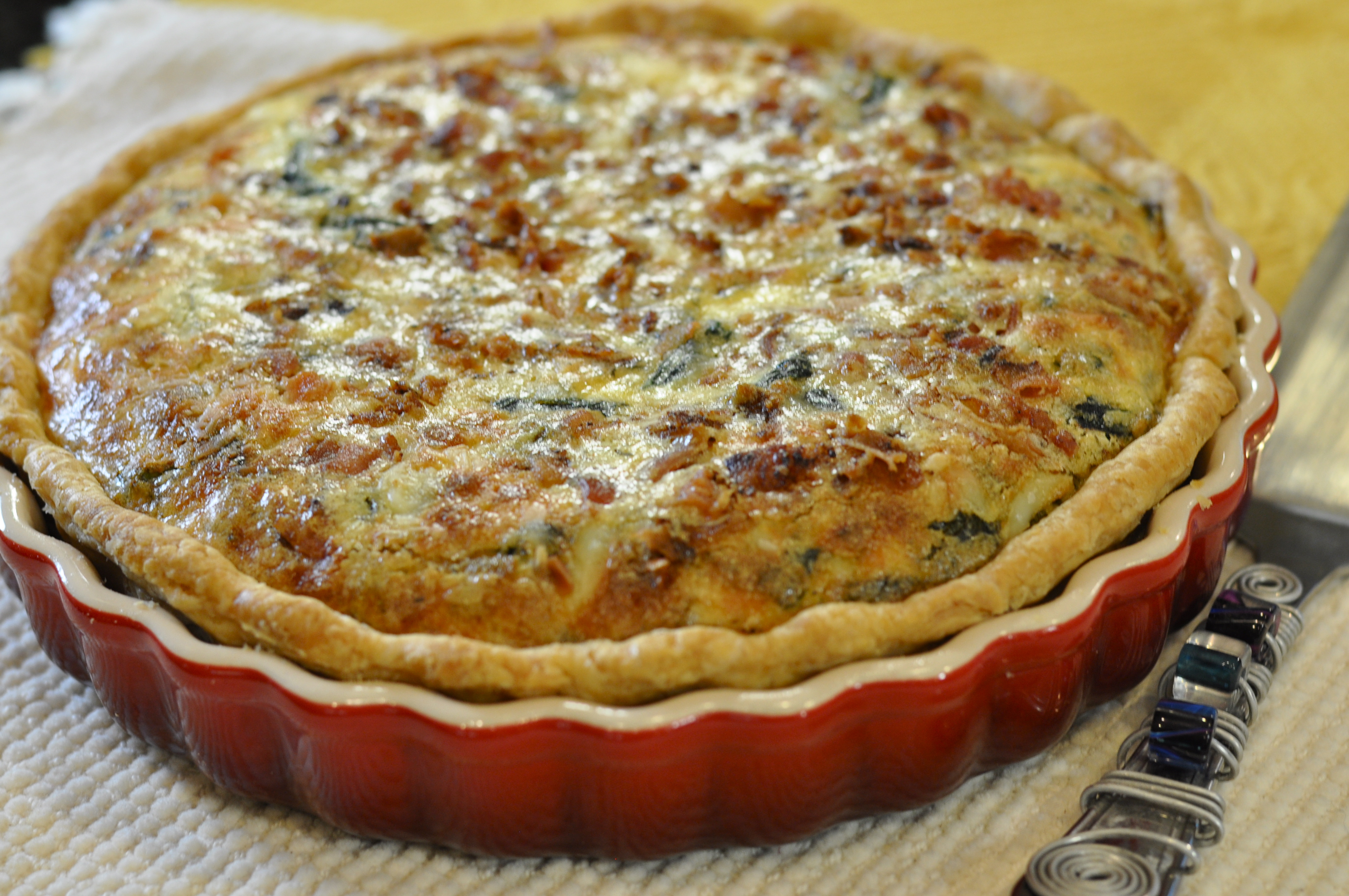 never tire of quiche eating it trying new recipes and techniques and ...