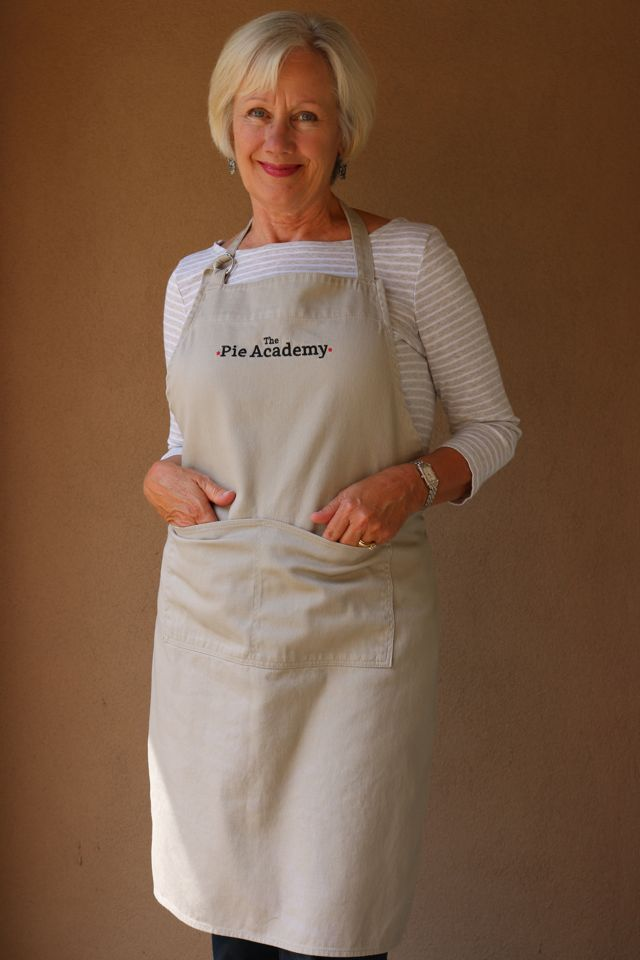 The Pie Academy apron