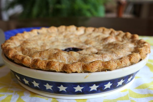 Blueberry Ginger Pie
