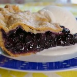 Blueberry Ginger Pie with Three-Grain Butter Crust