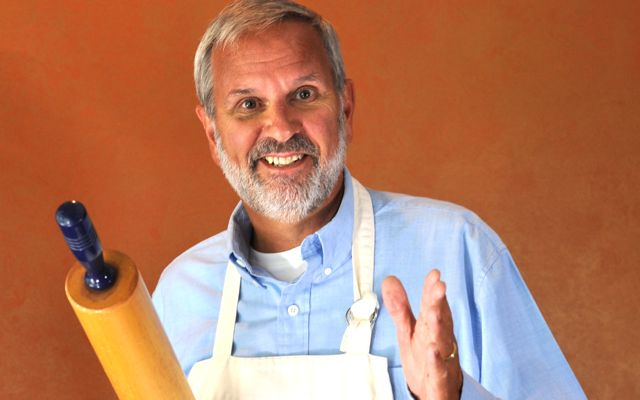 Ken Haedrich, Dean of The Pie Academy, your host and instructor in Savannah