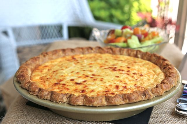 Savory Corn Pudding Pie at The Pie Academy