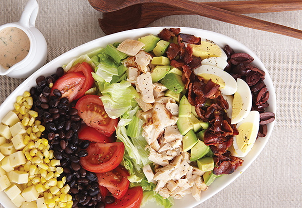 Tex-Mex Cobb Salad from COMFORT FOOD