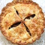 Apple Cheddar Pie with Toasted Walnuts