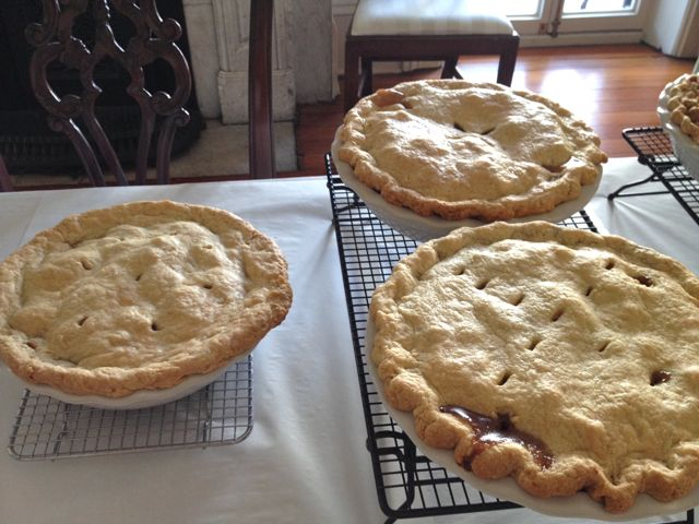More pies out of the oven