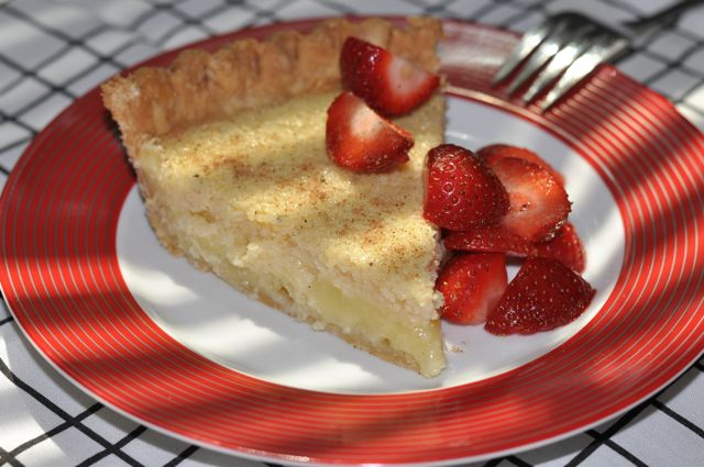 Soft Buttermilk Pie at ThePieAcademy.com