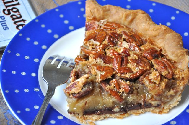 Chocolate Pecan Pie at ThePieAcademy.com