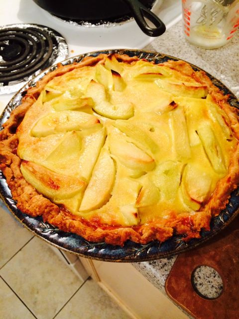 Justin's Calvados Apple Pie at ThePieAcademy.com