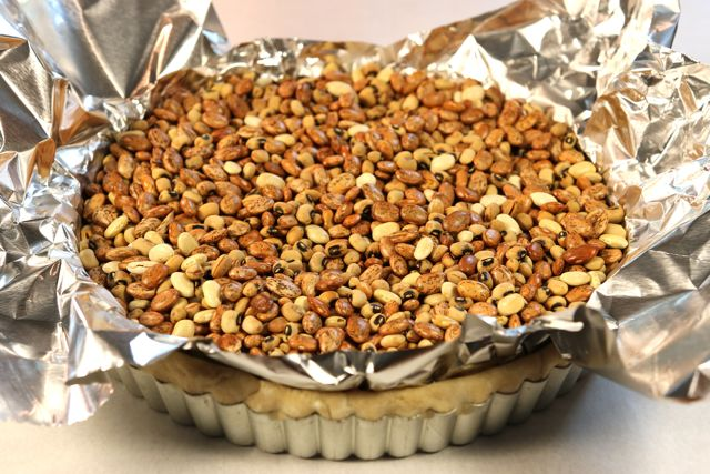 Blind baking a whole wheat pie or tart shell at ThePieAcademy.com