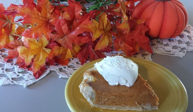 Kathy's Pumpkin Pie at ThePieAcademy.com