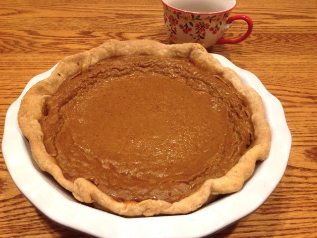 Susan's Pumpkin Pie