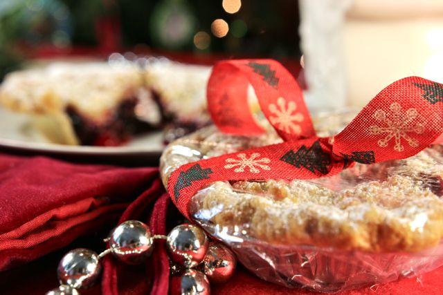 Stocking Stuffer Cranberry Cherry Pie at The Pie Academy