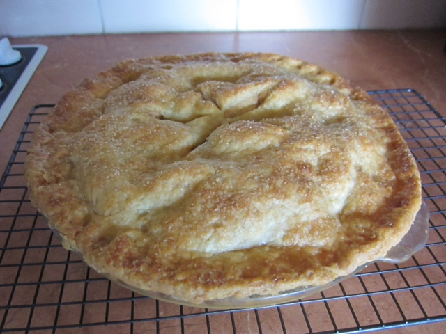 Lynne Butler's apple pie at The Pie Academy