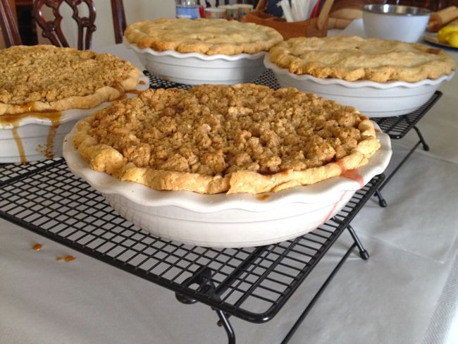 Baking success at the 2014 Lowcountry Pie Getaway