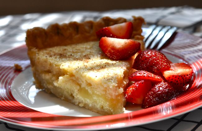 Buttermilk Pie, a Lowcountry favorite
