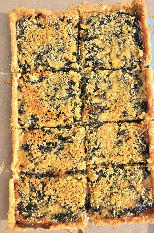 Collard Tart au Gratin from The Pie Academy