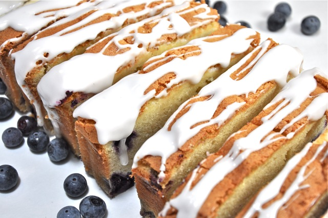 Blueberry Cream Cheese Pound Cake from ThePieAcademy.com