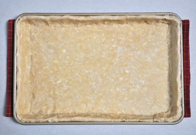 Slab pie shell at ThePieAcademy.com