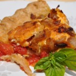 Savory Fresh Tomato and Basil Pie