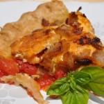 Savory Fresh Tomato and Basil Pie