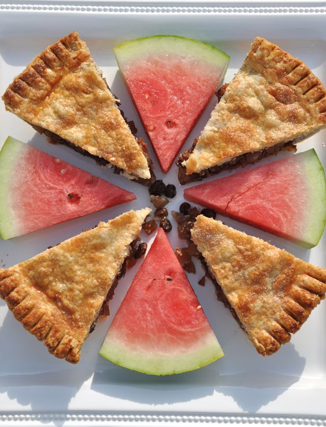 Watermelon Rind Pie from The Pie Academy