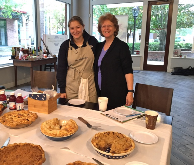 Julia and Janet at The Pie Academy's Lowcountry Pie Getaway 2015 in Charleston