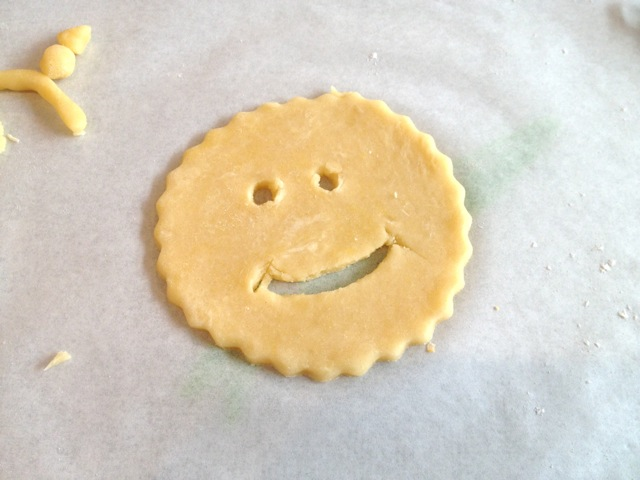 Nick's cutout lid at The Pie Academy's Lowcountry Pie Getwaway 2015 Charleston