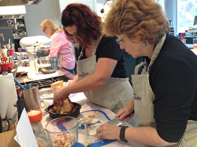 Susan and Janet at The Pie Academy's Lowcountry Pie Getaway 2015 in Charleston