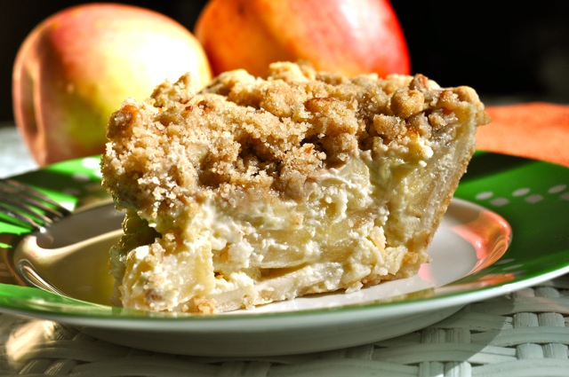 Apple Custard Pie at ThePieAcademy.com