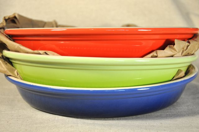 Large Le Creust pie dish