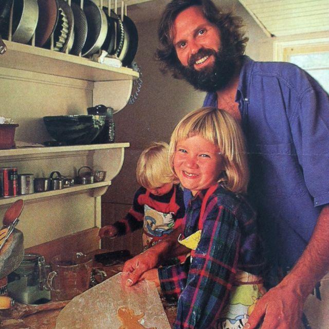 Ken Haedrich and daughter Ali, circa 1991