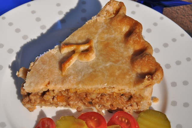 Meat pie - tourtiere - from ThePieAcademy.com