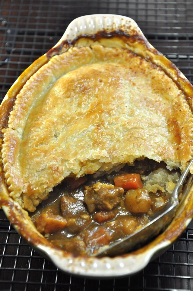 Moroccan Lamb Pot Pie from Ken Haedrich and The Pie Academy
