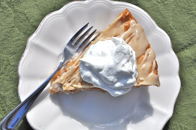Maple Glazed Pear Pie from Ken Haedrich and ThePieAcademy.com