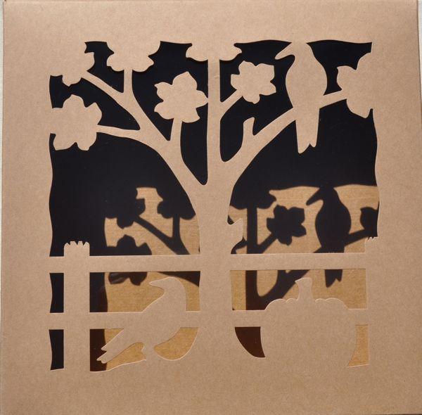 Autumn Scene pie box at ThePieAcademy.com