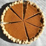North Carolina Sweet Potato Pie…and a Dollop of Gratitude