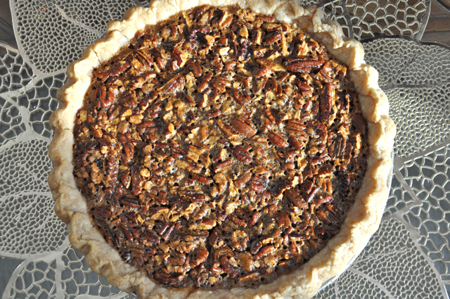 Holiday Pecan Pie at The Pie Academy