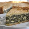 Kale and Mushroom Pie with Seeded Crust