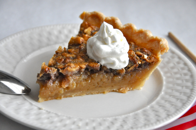 Maple Walnut Vinegar Pie at The Pie Academy