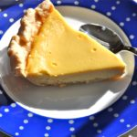 Maple Custard Pie