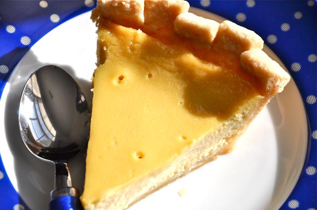 Maple Custard Pie at The Pie Academy