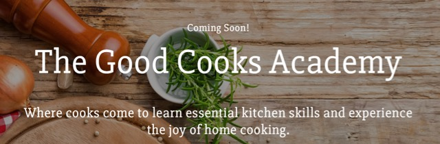 The Good Cooks Academy banner