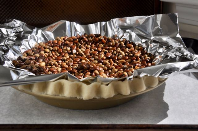 Blind baking a pie shell