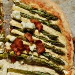 Asparagus Tart with Bacon and Blue Cheese
