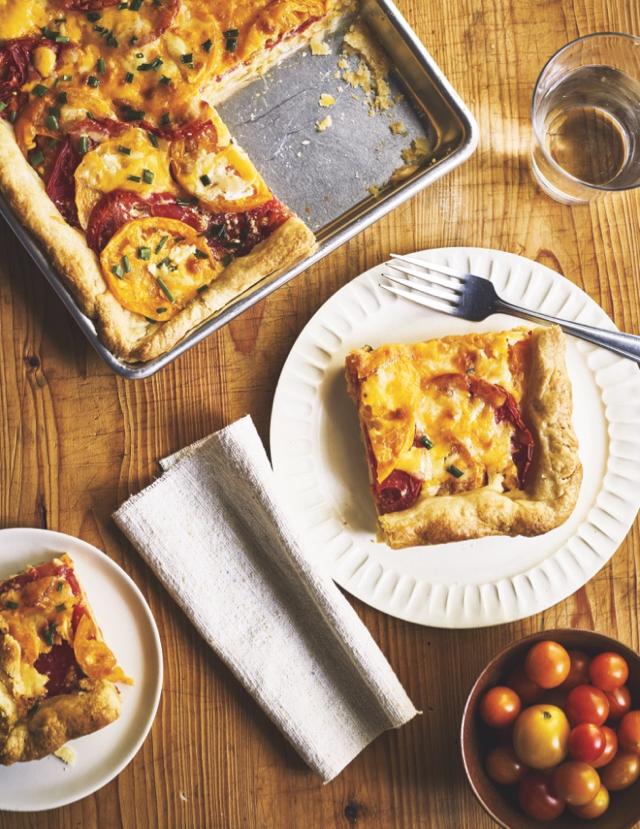 Tomato Slab Pie from The Harvest Baker by Ken Haedrich